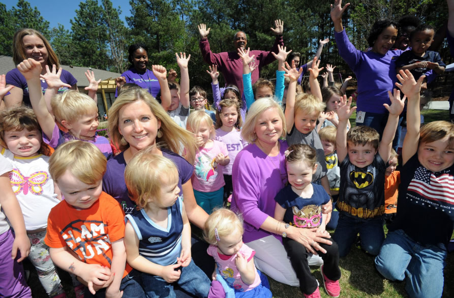 Little Miss Mow It All to Sponsor New Children's Center Playground